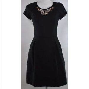 Banana Republic women's dress 4 fit flare black